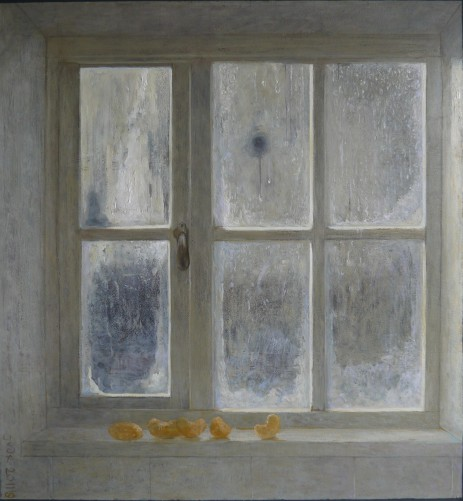 bevroren raam
