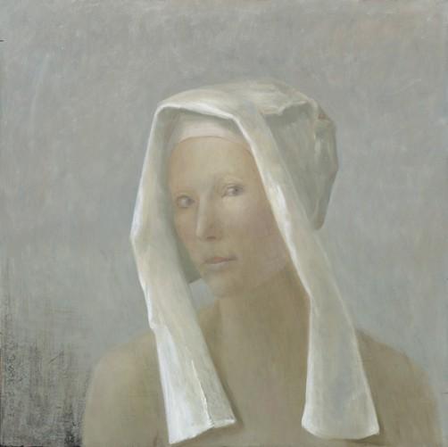 Marjolein met wit kapje