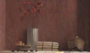 stilleven met klaprozen en asperges