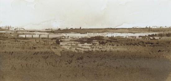 landscape in Zeeland