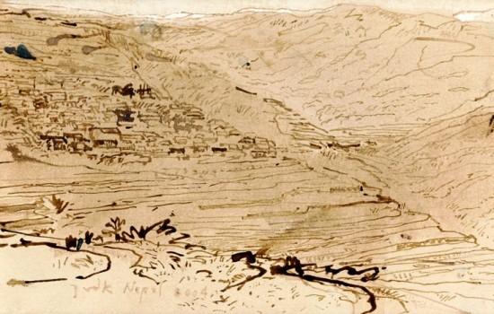 landscape in Ghandruk, Nepal