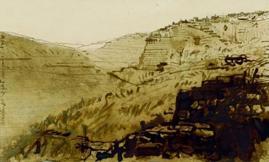 Inca ruine in Peru