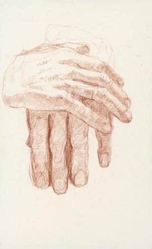 handen van mijn vader